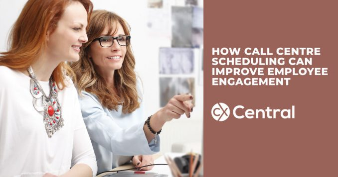 How call centre scheduling can improve employee engagement