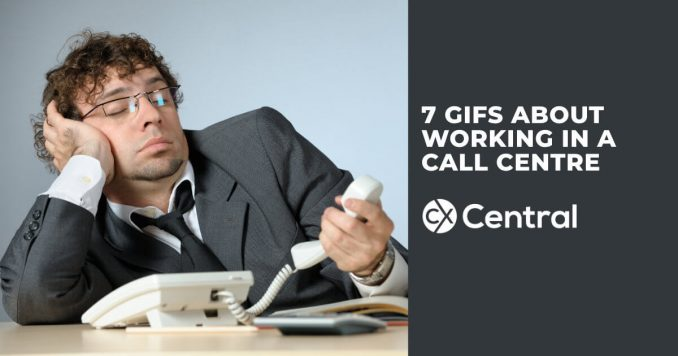 7 GIFS about call centre life