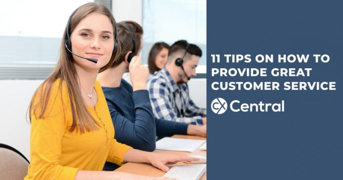 11 call centre agent tips to providing great customer service