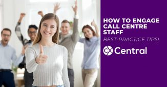 how to engage call centre staff - best practice tips!