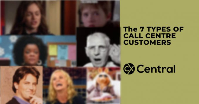 The 7 types of call centre customers