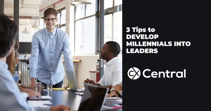 tips to develop millennials into leaders