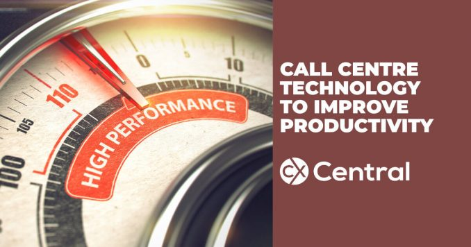 Call centre technology to improve productivity