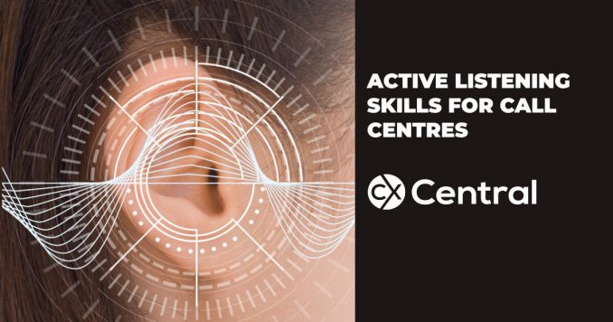 Active listening skills for call centre agents