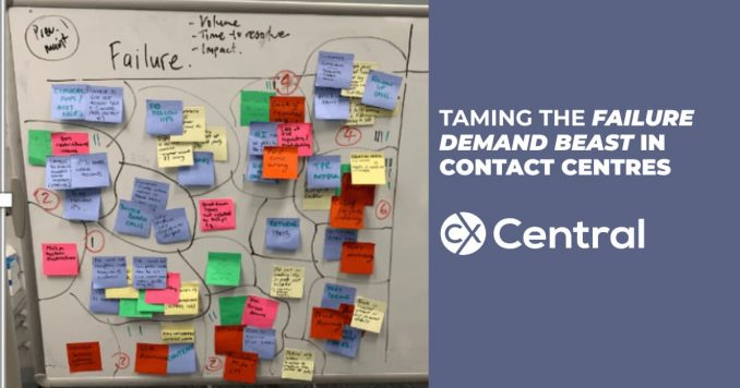 How to reduce call volumes using Failure demand in contact centres