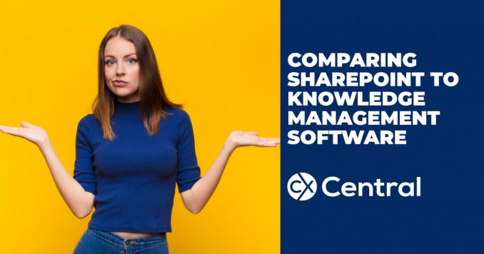 Comparing Sharepoint to Knowledge Management Software