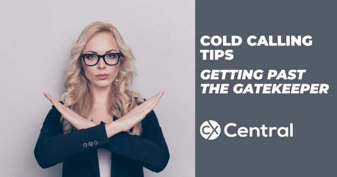 Cold call tips for getting past gatekeepers