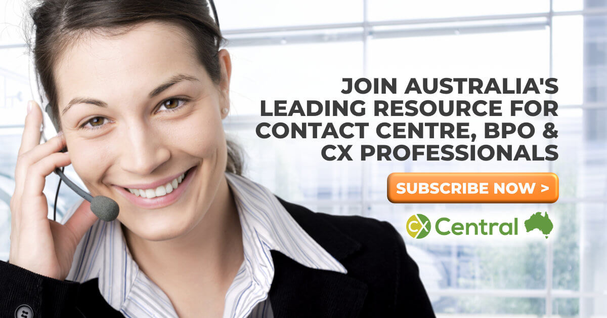 CX Central australian contact centre industry 2020